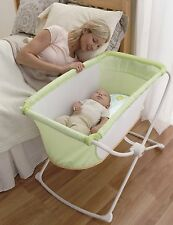 New Baby Portable Bassinet Bed Cradle Play Room Folding Travel Fisher Nursery
