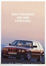 Prospekt BMW 5er Touring 1 93 1993 Autoprospekt 3 11 05 06 M5 530i 525tds 525ix