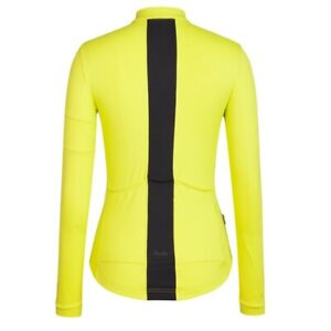 Rapha Women's Long Sleeve Souplesse Jersey Extra Small XS Chartreuse / Yellow