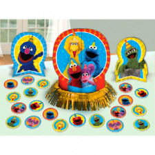 Sesame Street Stars Birthday Party Table Decorating Kit