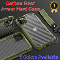 For iPhone 12 Pro Max Mini Armor Hard Matte Shockproof Case Cover