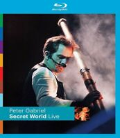 PETER GABRIEL - SECRET WORLD LIVE (BLURAY) EAGLE VISION  BLU-RAY NEW+