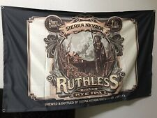 Sierra Nevada Ruthless Rye Ipa Brewing Beer Banner Sign Flag ManCave 36�x59�