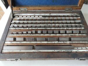CEJ no. E1 imperial slip gauge set