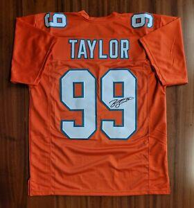 Jason Taylor Autographed Signed Jersey Miami Dolphins JSA