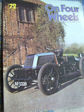 On Four Wheels Cars, 1970s Magazines in English