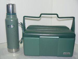 Aladdin Stanley Vintage Lunch Box w/ Thermos Set Vacuum Cooler Locking Handle