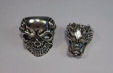 Skull fashion ring (TWO DIFFERENT PIECES)