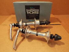 New-Old-Stock 32-Hole Shimano 105 Hubset w/126 mm Spacing and Threaded Rear Hub