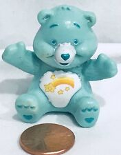 "Carebear Care Bear Mini PVC Toy 1 1/2"" Gumball Machine Vending Figure WISH Cake"