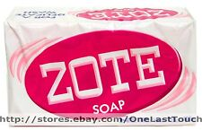 Pink ZOTE^* High Quality LAUNDRY SOAP Safe DELICATE 6.5-7.0oz WHITENING POWER 1b