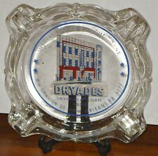 DRYADES SAVINGS AND LOAN New Orleans Gravier Street ASHTRAY La