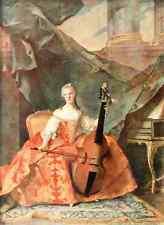 A4 Photo Nattier Jean Marc 1685 1766 Henriette Daughter of Louis XV 33 1912 Prin