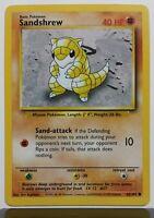 Sandshrew 62/102 - NM / M - Base Pokemon Card - Unplayed - $1 Combined Shipping