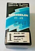 camera d'aria 2 x 17 MICHELIN VTT - ATB MOTORINO PIAGGIO ciclomotore moto bici