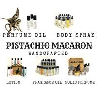 PISTACHIO MACARON Type Perfume / Body Spray / Fragrance Oil / Sweet Cookie Scent