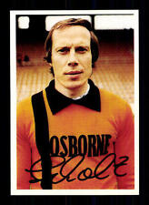 Werner Scholz VFL Bochum Bergmann Sammelbild 1978-79 Orig Sign+ A 116110