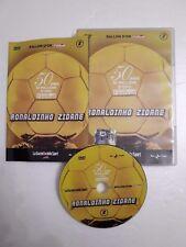 DVD Film Movie 50 anni di pallone d'oro France Football Ronaldinho Zidane