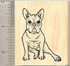 French Bulldog rubber stamp H9306 WM bull dog