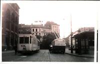 Original real photograph Tram Antwerp 530 tramcar circa 1940 vintage