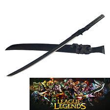 New Sharp Large Carbon Steel Sword Machete Japanese League Legends Replica Sword
