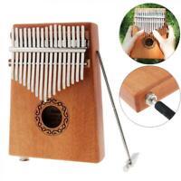 SLADE 17 Key Electroacoustic Kalimba Single Board Mahogany Thumb Piano Mbira