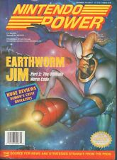 Nintendo Power Magazine Earthworm Jim Part 2 December 1994 020318nonr