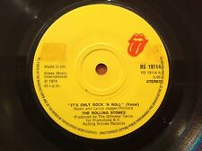 THE ROLLING STONES - 1974 vinyl 45rpm 7-Single - IT'S ONLY RICK ' N ' ROLL