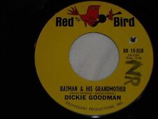 DICKIE GOODMAN-Batman & His Grandmother (1966) RED BIRD 45