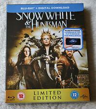 """""""Snow White and the Huntsman"""" Fullslip-Bluray-Steelbook, neu&ovp, englisch"""