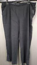 Dorothy Perkins - Ladies Black Wide Leg Linen Trousers - Size 20 -Great 4 Summer