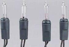 Mini-Lichterkette für innen+außen 120 teilig mit Trafo grün, Lichtfarbe klar