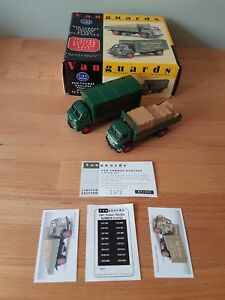 Boxed Vanguards KT1002 Ken Thomas Haulage Trucks of  50's & 60's Limited Edition