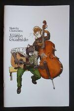 36 pages 14x22 cm Carnet signé / Signed sketchbook BLACKSAD Juanjo GUARNIDO