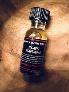 Black Madonna Ritual Oil, Handmade, Organic, Occult, Witchcraft, Hoodoo