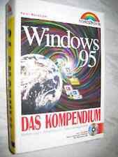 Altes  Buch Windows 95 Das KOMPENDIUM  Ausgabe 1995