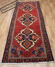 Traditional Vintage Wool 285cmX100cm Oriental Rug Handmade Carpet Rugs