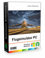 Realistischer Flugsimulator für den PC,  PC Game, FlightGear, Flight Simulator