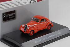 Fiat 508 CS Balilla Berlinetta 1935 red 1:43 Starline