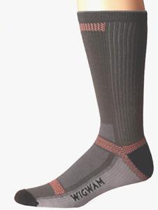 Wigwam F6280 Ultra Cool Lite Charcoal Crew Sock Medium Men 5-9.5 Women 6-10 New