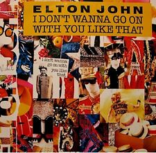 ELTON JOHN i don't wanna go on with you like that/rope around a fool SP 1988 EX+