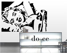 00037 Wall Stickers sticker muro tatoo Adesivi murali Marilyn Monroe 2 100x67 cm