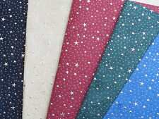 Luxury Handmade Cotton And Silk Paper Sheets With Gold Stars And Dots