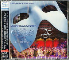 THE PHANTOM OF THE OPERA 25TH ANNIVERSARY-JAPAN ONLY 2 SHM-CD I50