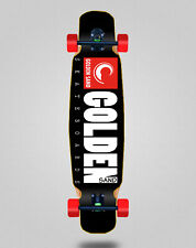 Skate Skateboard Longboard Complete Mix Bamboo 46x9 Golden Sand Icon Black Red
