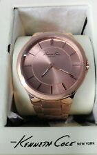 Kenneth Cole KC4877 New York Rose Gold Toned Analog Womens Bracelet Watch