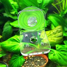 Clear Acrilic Aquatic Plant Pot Bowl Holder 3 pcs in set!!