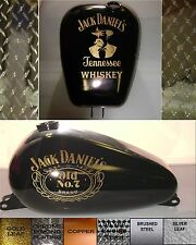 Motorcycle gas tank decal STICKER OLD NO 7 JACK