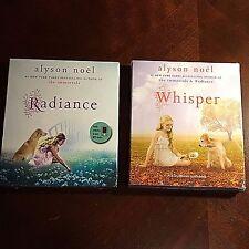 NEW set ALYSON NOEL'S Radiance & Whisper 2 Audiobook Lot NY Times Best Sell NEW!