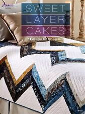 """NEW ANNIE'S QUILTING SWEET LAYER CAKES 11 DESIGNS FRO 10"""" SQUARES"""